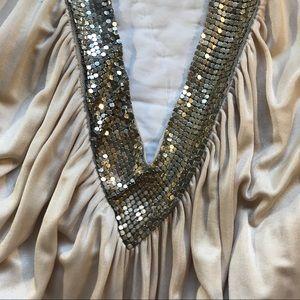 BCBGMaxAzria Dresses - Halter Cocktail Sparkly Dress!